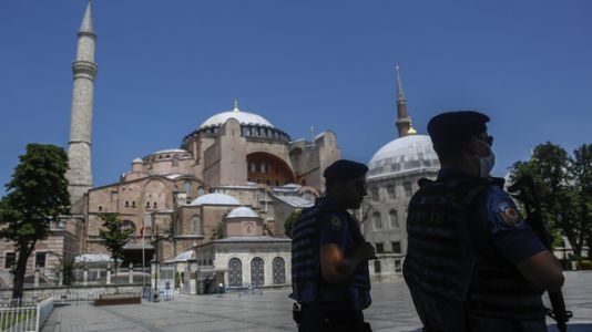 Turkish Court Ruling Clears Way For Hagia Sophia To Be Converted To A Mosque
