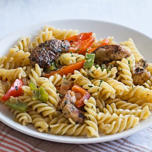 Rasta Pasta Recipe for Two