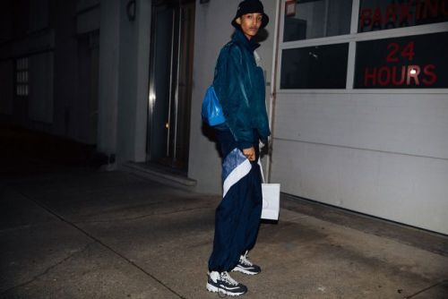See the post-Prada off-duty looks from last night in New York
