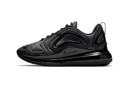 """Nike's Air Max 720 Surfaces in """"Triple Black"""""""