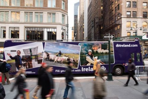 Major campaign kicks off Tourism Ireland's promotional drive for 2019 in all-important US market