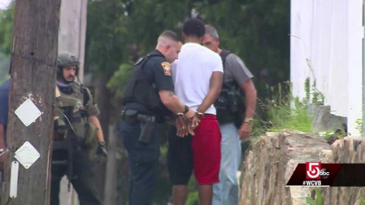 Video shows suspect in South Shore Plaza shooting being taken into custody