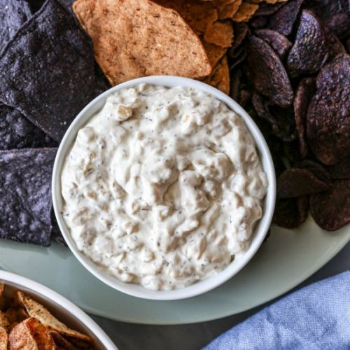 Gluten Free Caramelized Onion Dip