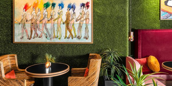 Globetrotter Seija Ojanpera Outfits Her Dwell Hotel in All Vintage Decor