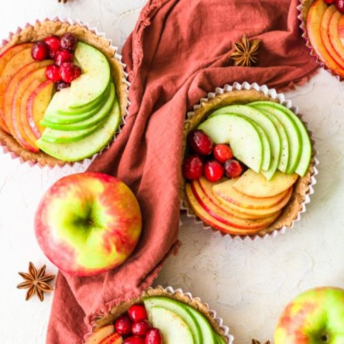 Cranberry apple tarts