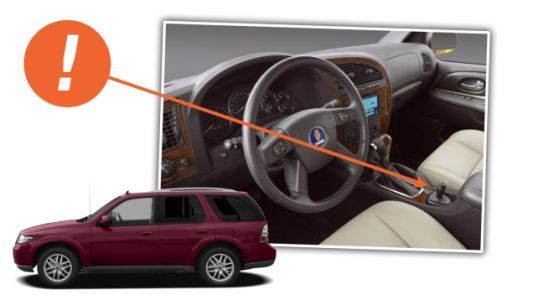 Putting A Floor-Mounted Ignition Switch On The Saab 9-7X Didn't Make It A Real Saab
