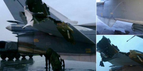 Photos reportedly show Russian jets wrecked by mortar fire - and it could be the start of Russia's nightmare in Syria