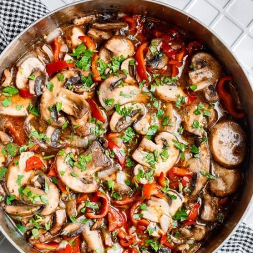 ITALIAN SAUTEED MUSHROOMS RECIPE