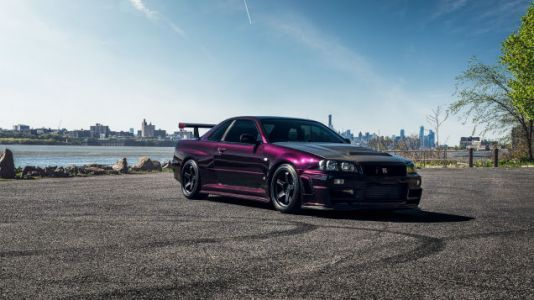 Your Ridiculously Awesome Nissan R34 GT-R Wallpapers Are Here