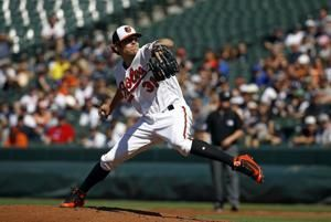 Valencia HR carries Orioles past Yankees 5-4 in DH opener