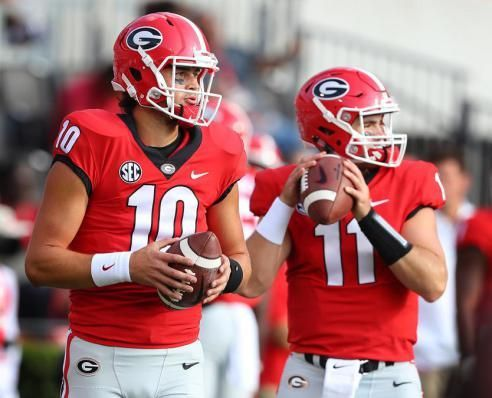 Eason's week-to-week, which means UGA could have a problem