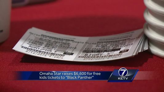 """Omaha Star raises money for kids free admission to """"Black Panther"""""""