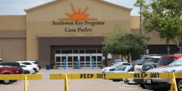 A 15-year-old migrant boy is missing after running away from a Texas children's shelter
