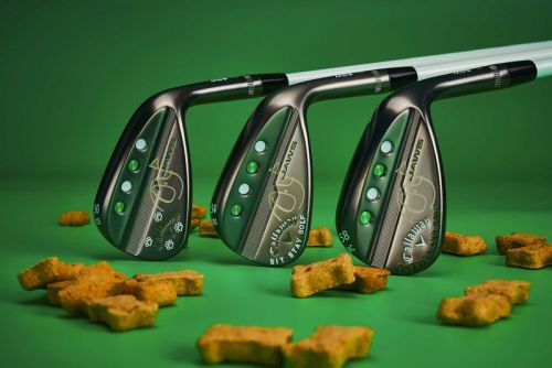 """Callaway Creates Custom Tour Wedges for """"Puppies and Golf"""""""
