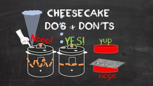 Pressure Cooker Cheesecake DO's and DON'Ts