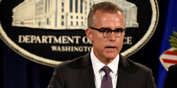 McCabe says he was fired as FBI deputy director because of what he witnessed after Trump fired Comey
