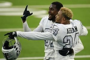 Raiders activate 7 defensive players from COVID-19 list