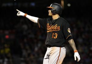 Orioles INF Machado draws attention in Chicago