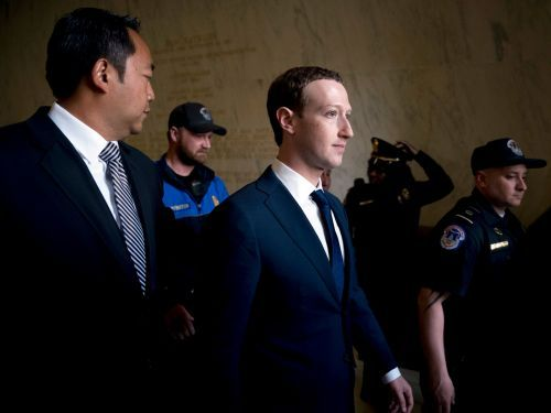 Mark Zuckerberg responds to report he's been hosting private dinners with prominent conservatives like Tucker Carlson and Lindsey Graham by telling people they should try listening to 'a wide range of viewpoints'