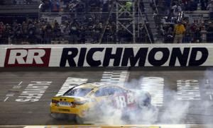 Victory at Richmond eases playoff tension for Kyle Busch
