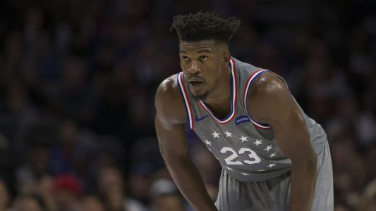 Jimmy Butler gets in dig at Timberwolves after win in home debut for 76ers