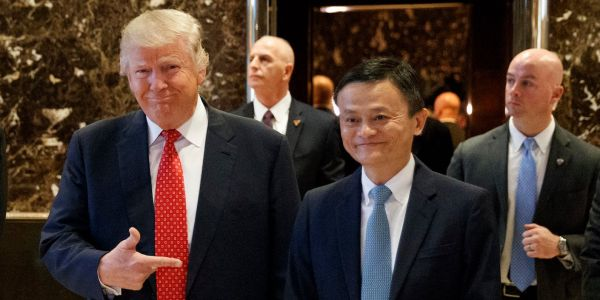 Jack Ma said Trump's trade war with China will wreck Alibaba's plans to help create 1 million US jobs