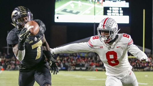 Ohio State suffers first loss of season in upset by Purdue