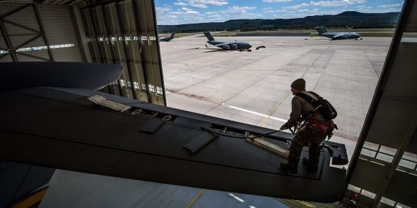How Air Force maintainers get a plane flying again after a lightning strike