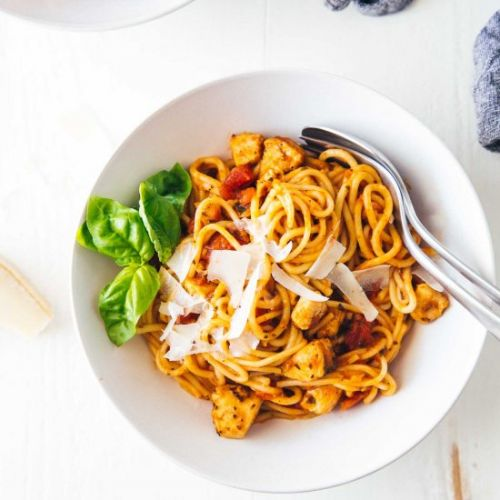 Instant Pot Chicken Spaghetti