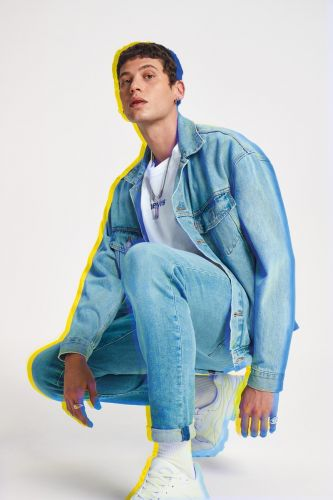 Francesco Cuizza & Kelvin Bueno Rock Fresh Denim for Levi's Spring '19 Campaign