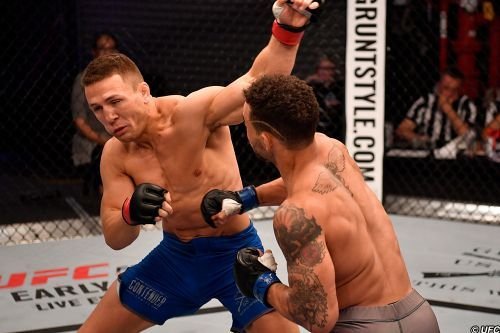 Te Edwards ready to get down to the business of making UFC bucks after DWCS 11 win