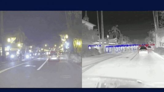 The Future of Safe Self-Driving Cars Is Thermal Imaging