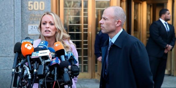 Stormy Daniels rips Trump's lawyer Michael Cohen after court hearing deals blow to president and his fixer
