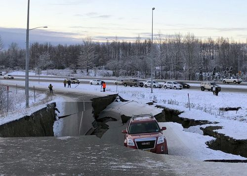 Alaska hit by more than 190 smaller earthquakes since Friday