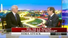 Fox News' Chris Wallace Grills Mike Pence For Claiming ISIS 'Defeated' Hours After Attack