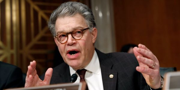 A second woman has accused Sen. Al Franken of groping her