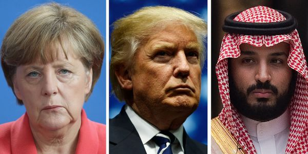 Germany is taking a step to punish Saudi Arabia that Trump has repeatedly said he won't go near