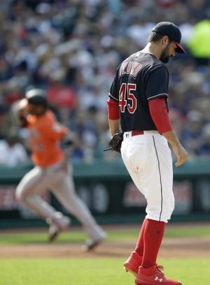 Cobb pitches Orioles past Indians 4-2
