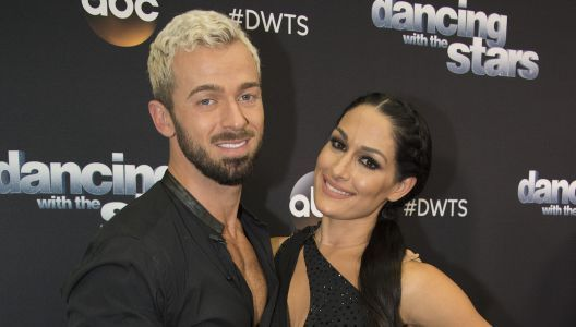 Nikki Bella Says Artem Chigvintsev Is an 'Amazing Lover' and She's a Big Fan of His 'Graceful Legs'