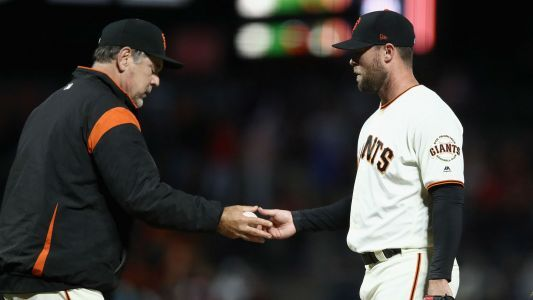 Hunter Strickland injury update: Giants closer breaks hand punching door after blown save, out 6-8 weeks