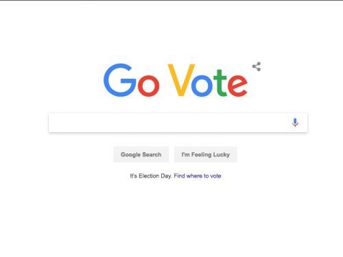 Google revamped its homepage for Election Day to show you where to vote