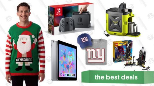 Friday's Best Deals: iPad, J.Crew, Nintendo Switch, and More