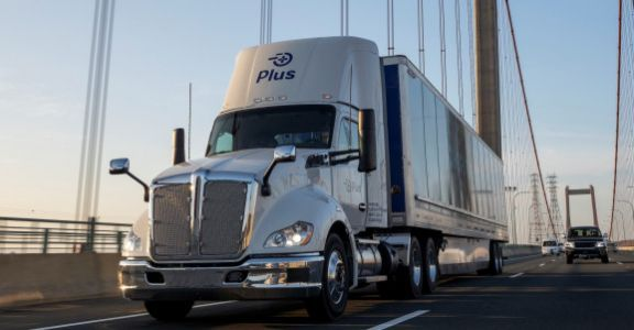 Autonomous trucking company Plus will use AI and billions of miles of data to train self-driving semis