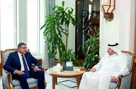 Qatar Prime Minister and Minister of Interior meets with the UNWTO Secretary-General