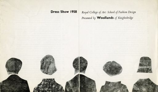 Inside the Royal College of Art's Collection of Fashion Show Invitations