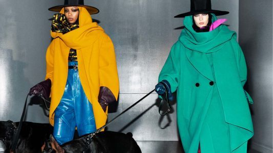 Marc Jacobs' Fall 2018 Ad Campaign Features Multicolored Bowl Haircuts and Doberman Pinschers