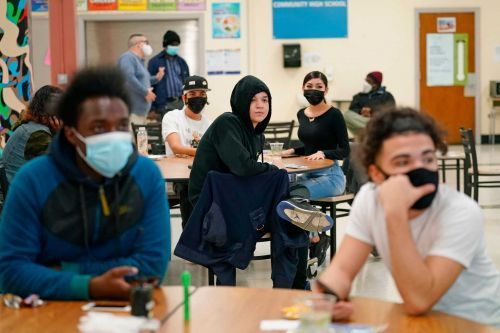 New York City high schools, shut since November, will reopen March 22