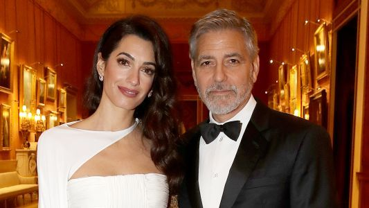 Hollywood Royalty! George and Amal Clooney Stun at Event Hosted by Prince Charles