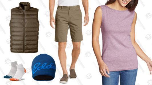 Take an Extra 50% Off Clearance at Eddie Bauer