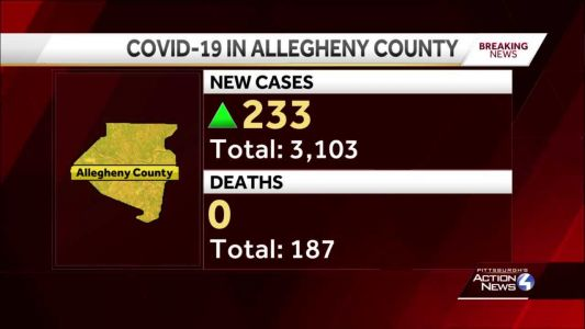 Allegheny County Health Department provides data on recent COVID-19 cases